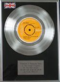 "ELVIS PRESLEY - 7"" Platinum Disc - YOU DON'T HAVE TO SAY YOU LOVE ME"